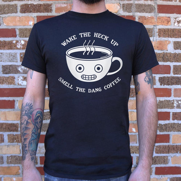 Smell The Coffee T-Shirt | Short Sleeve Graphic Tee - The Updated Ones