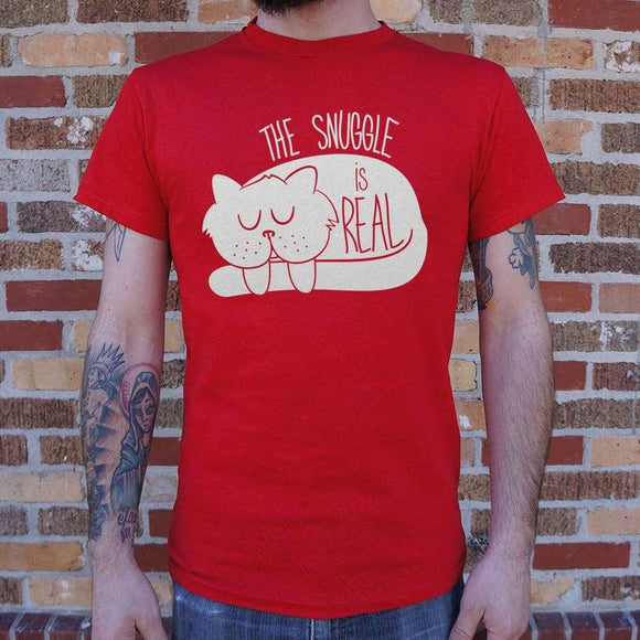 The Snuggle Is Real T-Shirt | Short Sleeve Graphic Tee - The Updated Ones