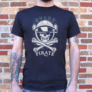 Space Pirate T-Shirt | Short Sleeve Graphic Tee - The Updated Ones