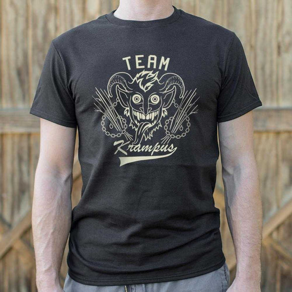 Team Krampus T-Shirt | Short Sleeve Graphic Tee - The Updated Ones