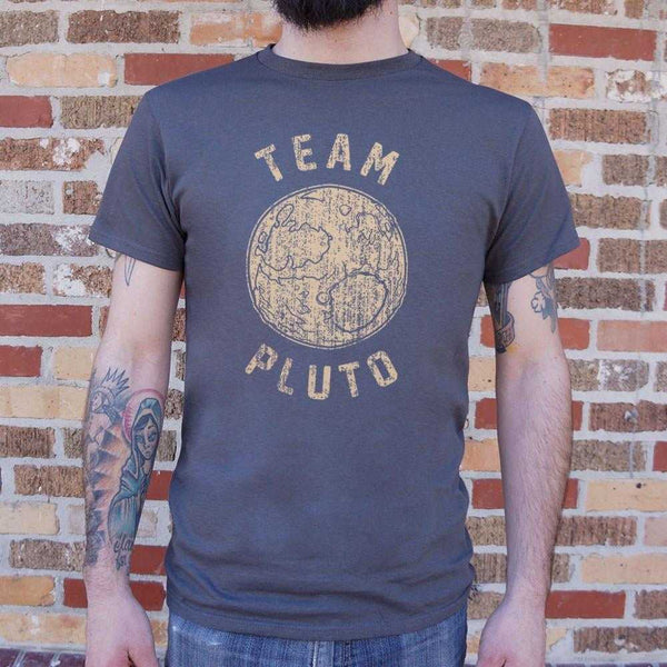 Team Pluto T-Shirt | Short Sleeve Graphic Tee - The Updated Ones