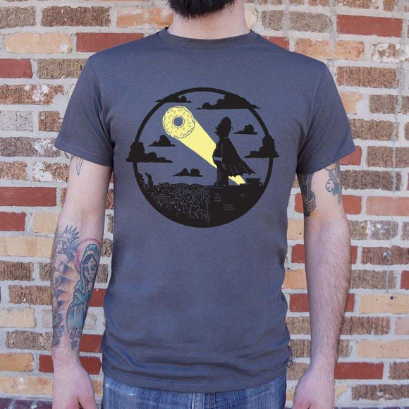 The D'Oh Knight Superhero T-Shirt | Short Sleeve Graphic Tee - The Updated Ones