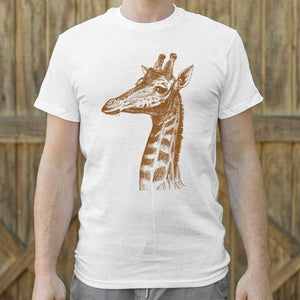 Placid Giraffe T-Shirt | Short Sleeve Graphic Tee - The Updated Ones