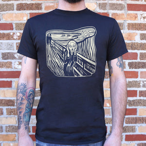 The Scream Painting T-Shirt | Short Sleeve Graphic Tee - The Updated Ones