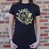 Mighty Thorium T-Shirt | Women's Short Sleeve Top - The Updated Ones