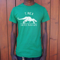 T.Rex Hates Push-Ups T-Shirt | Short Sleeve Graphic Tee - The Updated Ones