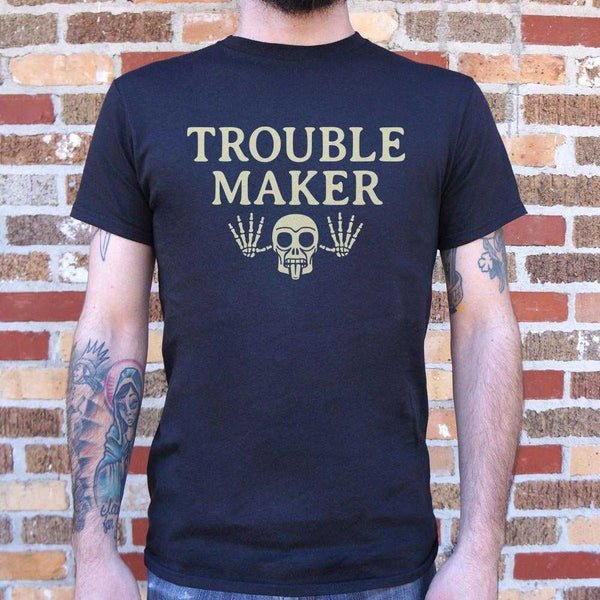 Troublemaker T-Shirt | Short Sleeve Graphic Tee - The Updated Ones