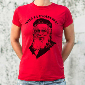 Viva La Evolution T-Shirt | Women's Short Sleeve Top - The Updated Ones