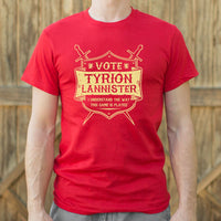 Vote Tyrion Lannister T-Shirt | Short Sleeve Graphic Tee - The Updated Ones