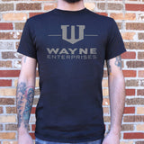 Wayne Enterprises T-Shirt | Short Sleeve Graphic Tee - The Updated Ones