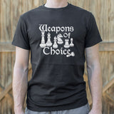 Weapons Of Choice Chess T-Shirt | Short Sleeve Graphic Tee - The Updated Ones