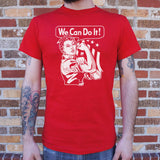 We Can Do It T-Shirt | Short Sleeve Graphic Tee - The Updated Ones
