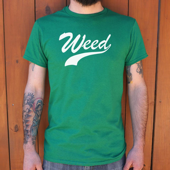 Weed T-Shirt | Men's Short Sleeve Graphic Shirts - The Updated Ones