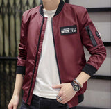 Men's Casual Zipped Up Bomber Jacket - The Updated Ones