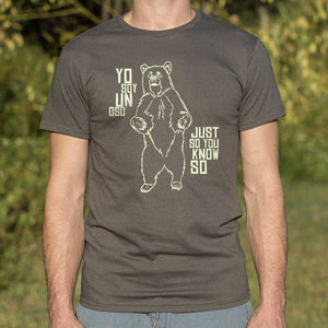 Yo Soy Un Oso T-Shirt | Short Sleeve Graphic Tee - The Updated Ones