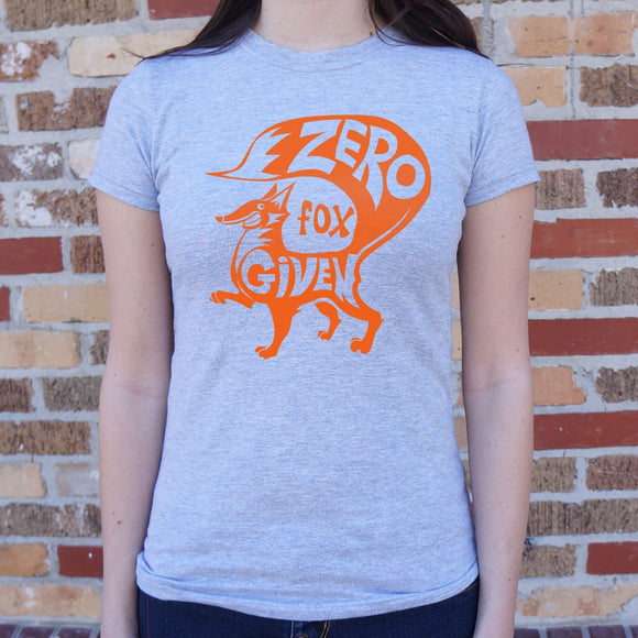 Zero Fox Given T-Shirt | Short Sleeve Female Top - The Updated Ones