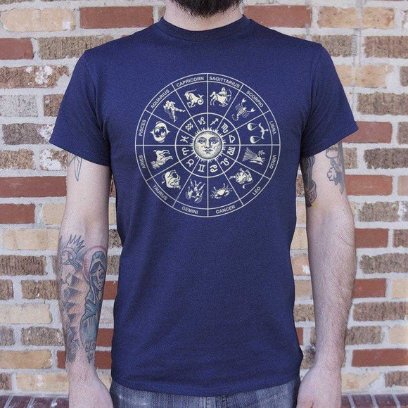 Zodiac Wheel T-Shirt | Short Sleeve Graphic Tee - The Updated Ones