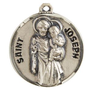 "St. Joseph the Worker Pendant with Chain - 20"" L"