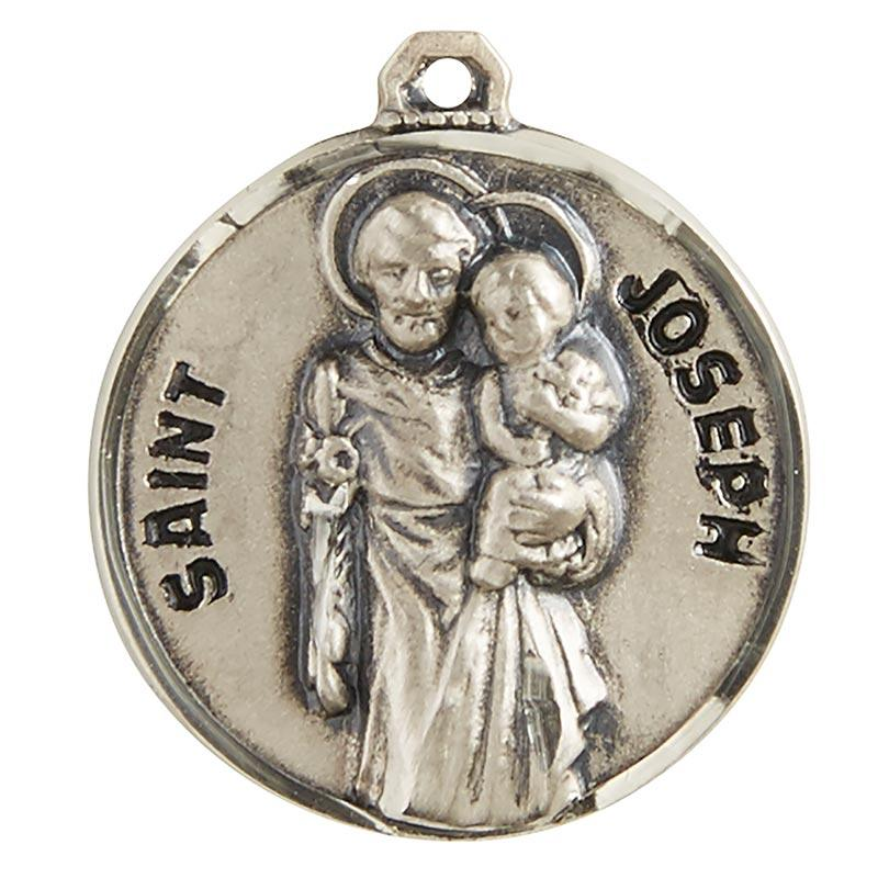 St. Joseph the Worker Pendant with Chain - 20