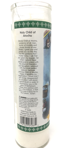 Holy Child Of Atocha Prayer Candle - English Prayer