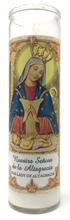 Load image into Gallery viewer, Our Lady of Altagracia Prayer Candle - Front