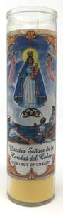 Our Lady of Charity Prayer Candle - Front