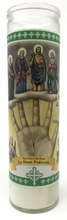Load image into Gallery viewer, Powerful Hand Prayer Candle - Front