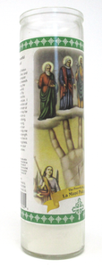 Powerful Hand Prayer Candle Pinkie