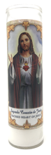 Load image into Gallery viewer, Sacred Heart of Jesus Prayer Candle - Front