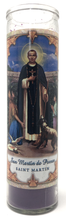 Load image into Gallery viewer, Saint Martin Prayer Candle - Front