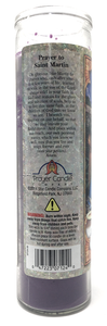 Saint Martin Prayer Candle - English Prayer