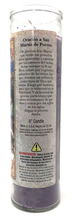 Load image into Gallery viewer, Saint Martin Prayer Candle - Spanish Prayer