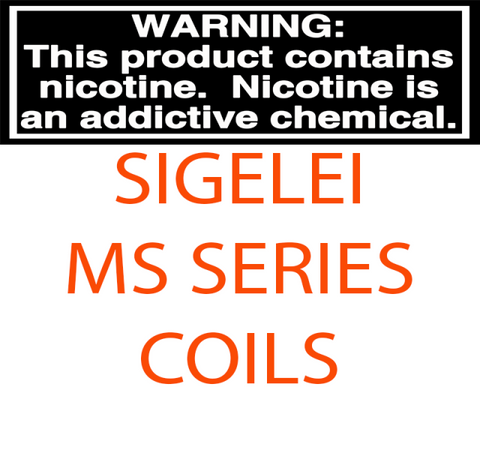 SIGELEI MOONSHOT MS SERIES REPLACEMENT COILS - PACK OF 5