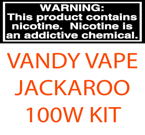 VANDY VAPE JACKAROO 100W TC STARTER KIT WITH 3.5ML / 5 ML SUB-OHM TANK
