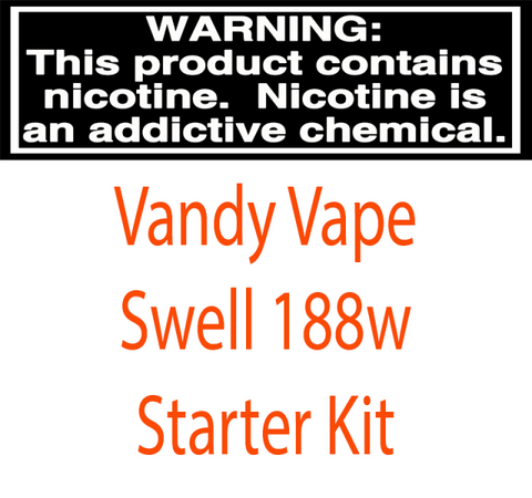 Vandy Vape Swell 188W Starter Kit With 3ML / 4.5ML Swell Tank