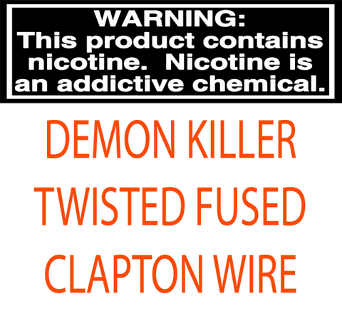 DEMON KILLER TWISTED FUSED CLAPTON WIRE - 15FT
