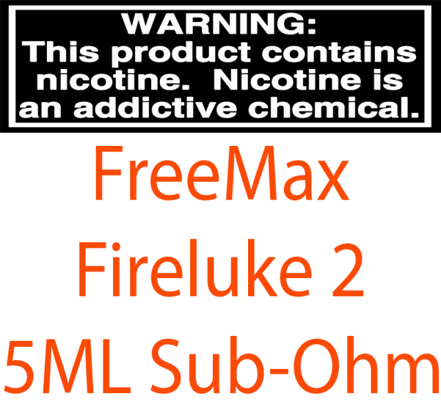 FreeMax Fireluke 2 With 5ML Sub-Ohm Tank