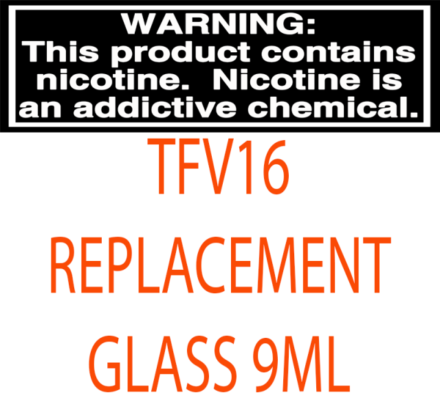 TFV16 Replacement Glass 9ml
