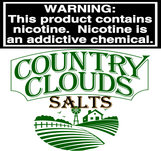 COUNTY CLOUDS SALTS BY BANZAI VAPORS LLC
