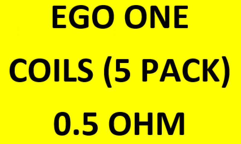 EGO ONE COIL 0.5 (5PACK) WORD