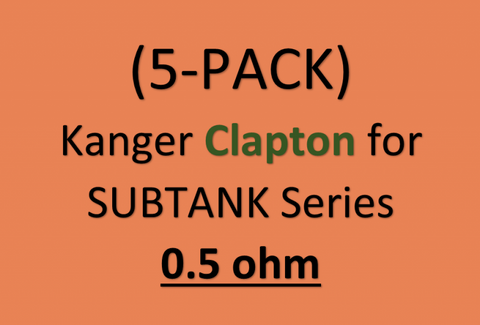 Kanger Clapton for SUBTANK Series (5-PACK)