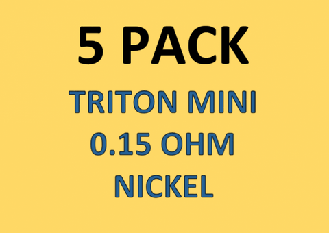 Aspire Triton Mini Coils 0.15 Nickel (5-Pack)