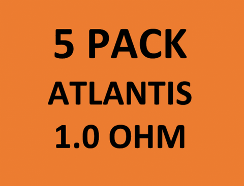 Atlantis Coils (5-Pack) 1.0 OHM