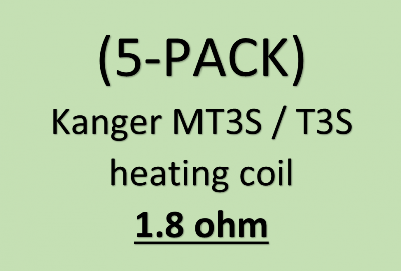 Kanger MT3S / T3S heating coil 5PCS/PACK