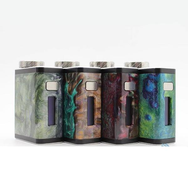FUNKY 60W TC RESIN BOX MOD - ASSORTED COLORS