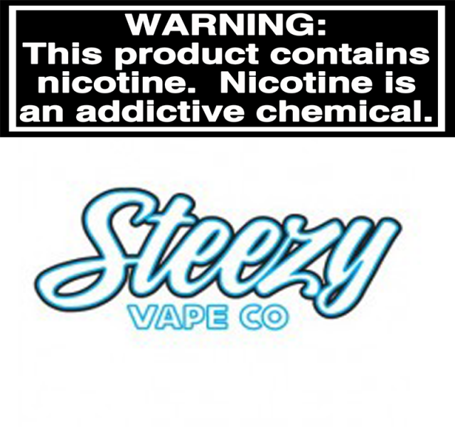THE BLU by Steezy Vape Co.,