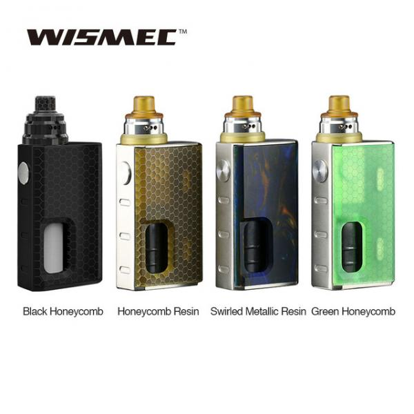 Wismec Luxotic BF Squonk Starter Kit With Tobhino BF RDA