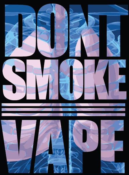 """DON'T SMOKE VAPE"" T-SHIRT"