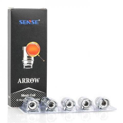 SENSE ARROW MESH REPLACEMENT COILS 0.15 Ohm (40-100W) - PACK OF 5