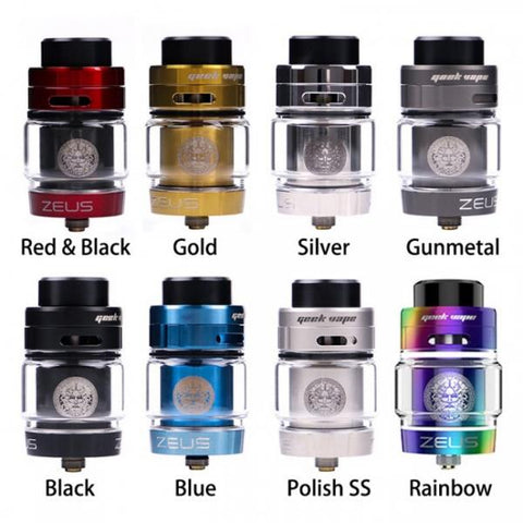 GEEKVAPE ZEUS DUAL COIL 26MM 5.5ML BULB GLASS RTA